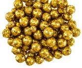 Gold Foam Glitter Balls, Christmas Vase Filler Scatter Decorations Party Supplies