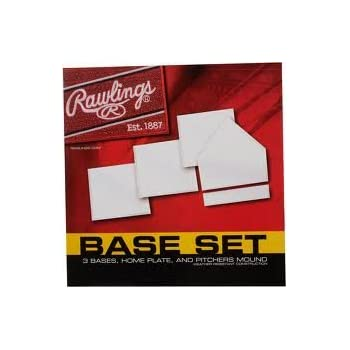 Rawlings Base Set - 3 Bases, Home Plate and Pitcher's Mound