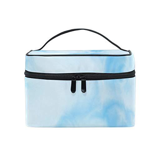 - Scroll Clouds Wall Decal Waterproof Cosmetic Bag Travel Cosmetic Bag Storage Box Mini Makeup Train Bag Suitable Capacity Portable