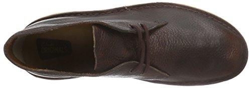 Clarks Originals Desert Boot, Polacchine Uomo Marrone (Rust Leather)