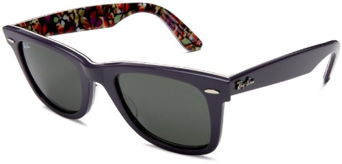 Ray Ban RB 2140 Top Violet on Flowers Print (rb2140-1020) 50