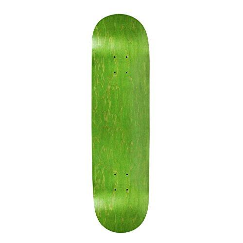 引き付ける生活ゴネリルBlank Skateboard Deck – Stainedグリーン – 8.5