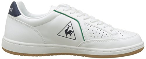 Mixte Sportif Coq Gum Adulte Cl Optical Sport Lea Blanc Icons Basses Le Baskets White Ver U8px8