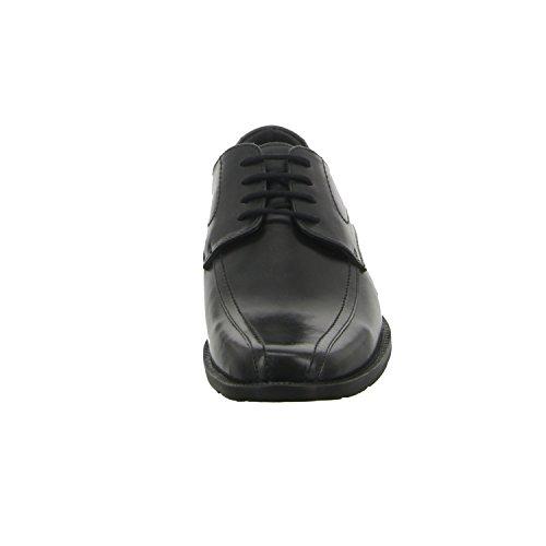 BOXX 61.132 Herren Business Anzug Schnürer Leder Black