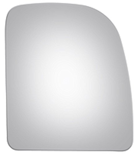 Mirrex 81211 For 2002-2017 Passenger/Right Side Replacement Fitting Ford Econoline E350 E450 Super Duty Mirror Glass Upper Flat W/O Backing Plate