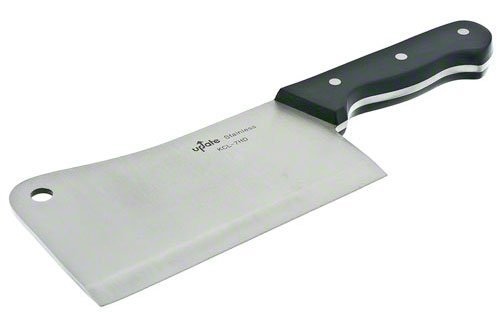 Update International KCL-7HD Stainless Steel Cleaver, 7-Inch, Set of 24 by Update International