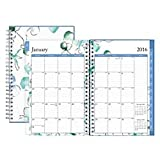 Blue Sky 2016 Lindley Frosted Weekly/Monthly 5 x 8 Planner