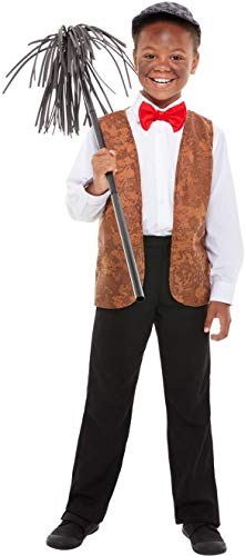 Boys Girls Victorian Chimney Sweep World Book Day Week TV Movie Film Fancy Dress Costume Outfit (8-12 ()