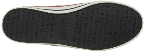 Tommy Hilfiger V2385ic 3d, Zapatillas para Hombre Gris (Steel Grey 039)