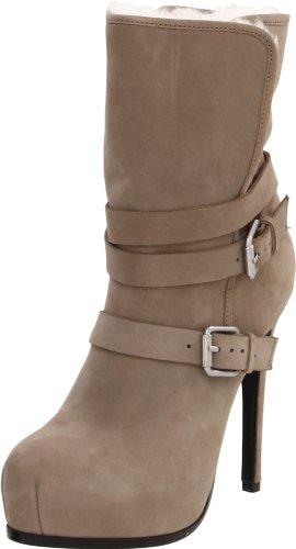 Pour La Victoire Women's Lizzie Faux Shearling Buckle Boot