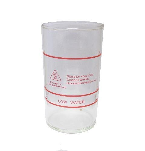 DERMALOGIC Facial Steamer Glass Jar Height:6.75 INCHES x Diam:3.8 INCHES Parts Accessories CLEARANCE