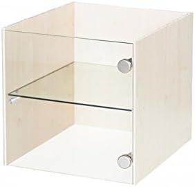 Organizador de vitrina con puerta de cristal caja plegable para ...