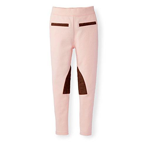 (Hope & Henry Girls' Ponte Riding Pants Light Pink)