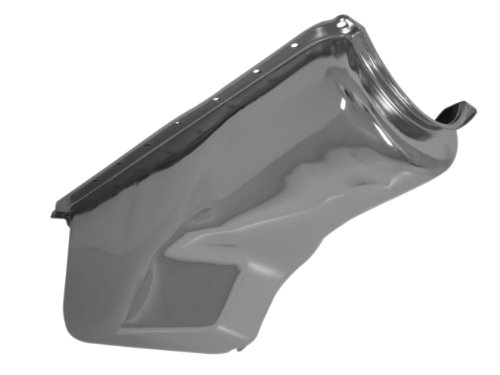 1970-82 Compatible/Replacement for Ford Small Block 351C-351M-400 Stock Capacity Oil Pan - Chrome