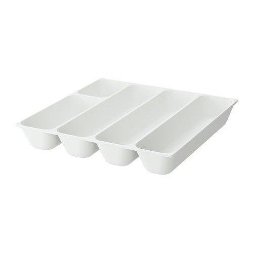 Ikea Variera - Organizador de cubiertos en color blanco; (32 ...
