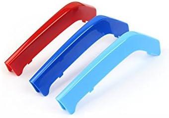 Autocollants de couverture de gril de bande de garniture de gril avant de 3D pour 2009-2013 E92 E93