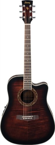 Ibanez Performance Pf28ece Dreadnought Cutaway Acoustic-Elec