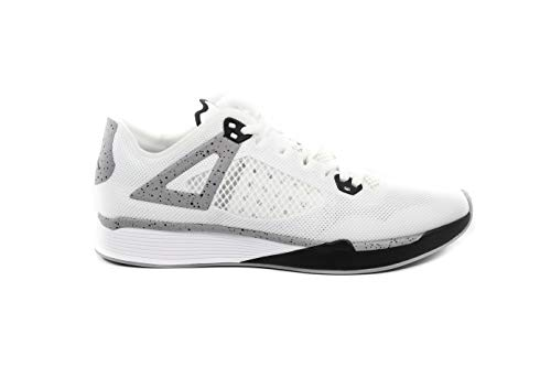 Jordan Nike 89 Racer White Black Cement Grey AQ3747 100 (9.5)
