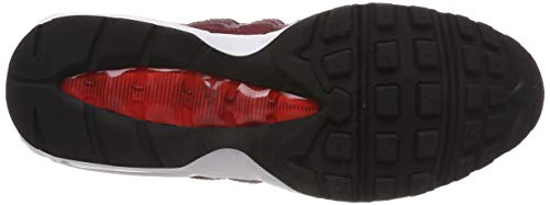 Nike Red De Mujer Max habanero 95 Red team 605 Wmns Red black team Zapatillas Gimnasia Air Rojo Para wprwaH