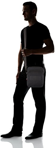 Black Bag Messenger Black City Tommy Nylon Reporter Hilfiger Mens Slim 0PPwOzq