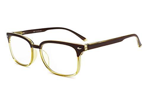 FEISEDY Progressive Multifocal Reading Glasses Blue Light blocking Reader Glasses B2497 (Best E Readers For Newspapers)