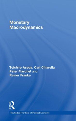 Monetary Macrodynamics (Routledge Frontiers of Political Economy)