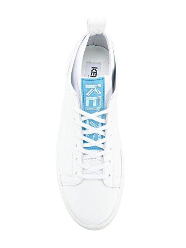 Kenzo Damen F852sn136l5001 Weiss Leder Sneakers