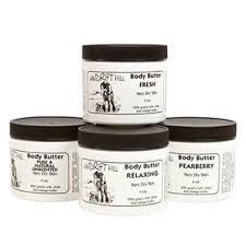 Windrift Hill Body Butter for Very Dry Skin (Rain)