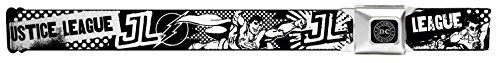Justice League Superheroes Retro Pop Seatbelt Belt