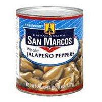 San Marcos Whole Jalapeno 26 - Whole Jalapeno Peppers