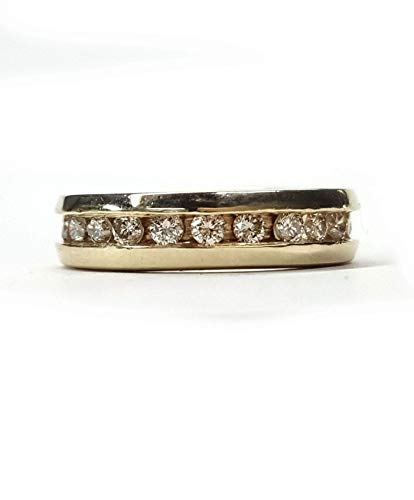 Diamond Eternity Wedding Band 1ct. Channel Set, in 14kt. Gold