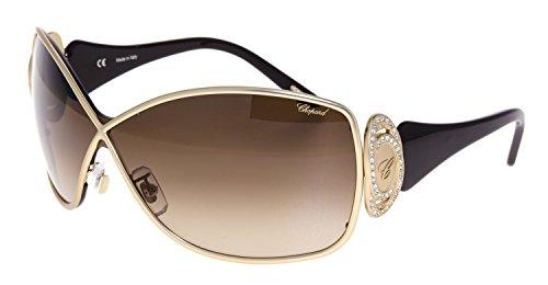 CHOPARD SCH802S 0648 CAT EYE GOLD BROWN WOMEN SUNGLASSES - Cat Sunglasses Gif With