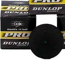 DUNLOP Pro High Altitude - Green Dot Squash Ball
