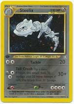 Pokemon Single Card Holofoil Rare Steelix ()