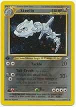 Genesis Holofoil Card (Pokemon Single Card Holofoil Rare Steelix 15/111)
