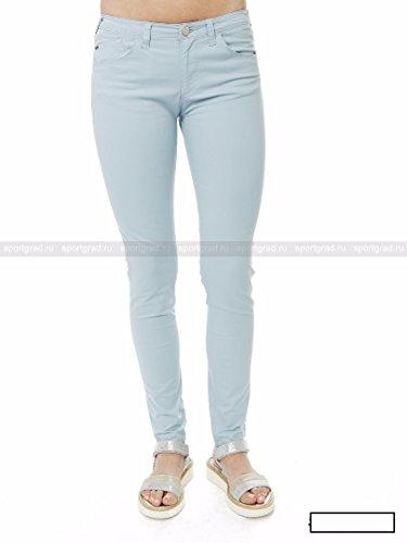 Cotone Misto Celeste Jeans Orchid Armani In Pantalone aWfnSB