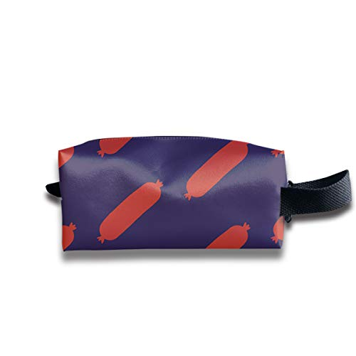 SYAyeah Sausage Universal Portable Toiletry Zipper Bags Travel Cosmetic Storage Bags