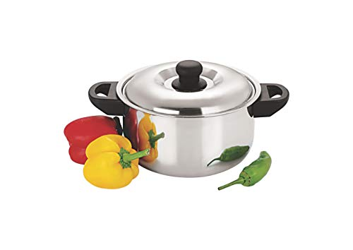 Sizzle Stainless Steel Insulated Casserole Hot Box 750ml Silver