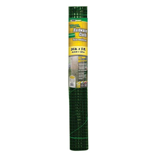 G-B-308253B-24-Inch-by-5-Foot-Green-12-Inch-Mesh-Hardware-Cloth