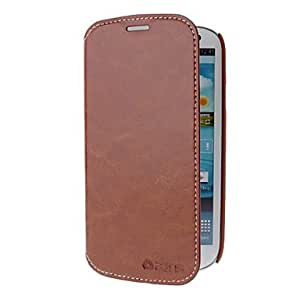 Soft PU Leather Cover Hard Back Case for Samsung Galaxy S3 I9300 , Red