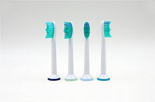 Ersatz-Aufsteckbürsten für Zahnbürste Sonicare, Premium Bürste kompatibel für Philips Sonicare Ersatz Bürste (HX6014/HX6510/22-HX6711/22-HX6730/33-HX6932/34-HX6972/35-hx9172/15-HX9332/04)