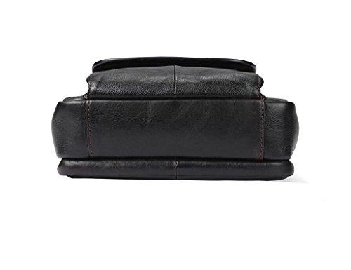 Messenger 1 Large Vintage Capacity Design Briefcases Men's Leather Sucastle Shoulder Bags wXvg8U