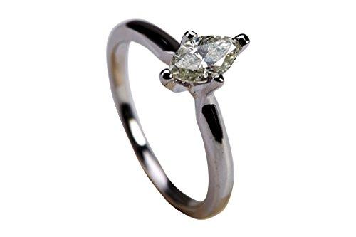 0.52 Ct Marquise Diamond - 9
