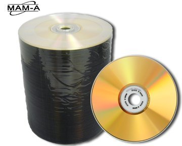 MAM-A CDR80GS / Gold / 80Min 700MB 100 Pack