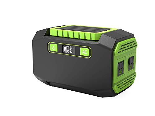 Portable Power Station, Enow 167Wh 45000mAh Lithium Battery Pack Supply Generator Charged by Solar Panel/Wall Outlet/Car, with 2 AC Outlets, 3 DC Ports, 2 USB Outputs for CPAP Backup Camping Emergency Uncategorized