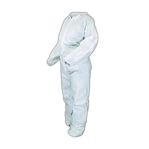 Kimberly-Clark 44307 KleenGuard A40 Microporous Film Laminate Coveralls, White, 4XL (Pack of 25) by Kimberly-Clark