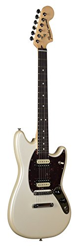 (Fender American Special Limited Edition Mustang Olympic White Electric Guitar)