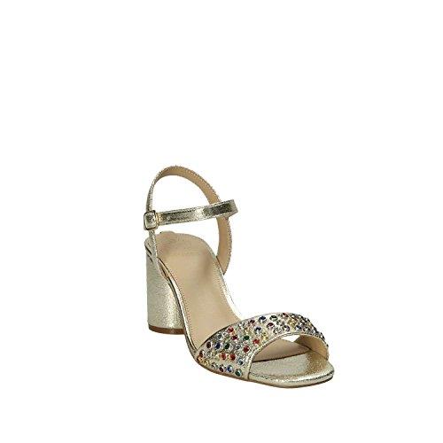 Sandalo Guess oro tacco FLLOR1 LEM03 Donna rrwnHqESxA