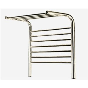 Amba Jeeves Wall Mount Electric M Shelf Straight Towel Warmer Finish: Oil Rubbed Bronze