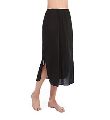 Vanity Fair Women's Plus Size Tricot Double Slit Half Slip 11717,